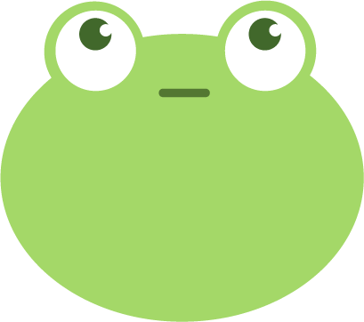 Frog: Smiley Emoji Stickers messages sticker-0
