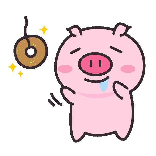 皮特猪 messages sticker-1