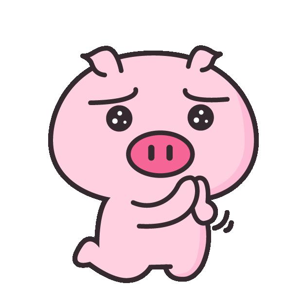 皮特猪 messages sticker-6