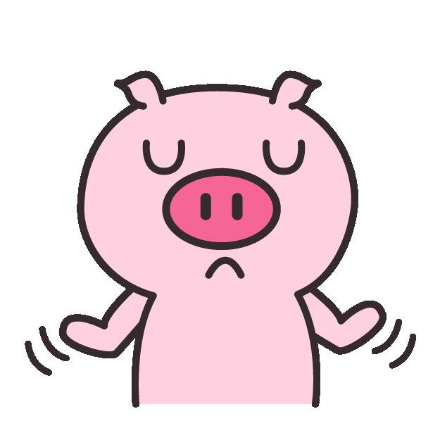 皮特猪 messages sticker-8
