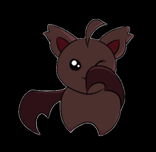 Cute Little Bats messages sticker-1