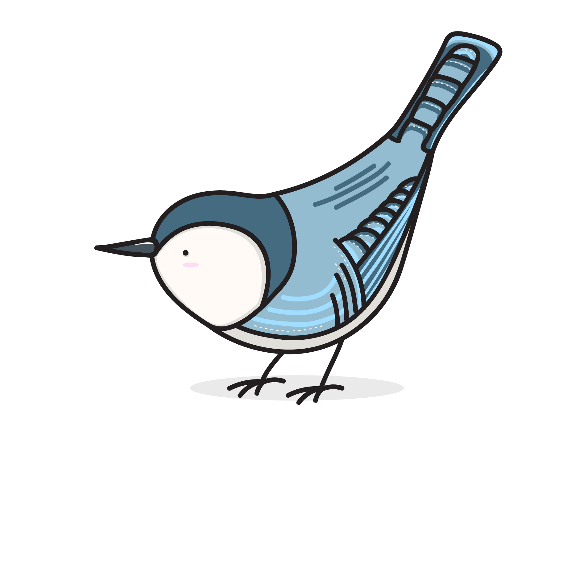 Bird Nerds Stickers messages sticker-1
