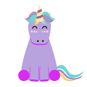 Silly Unicorns messages sticker-1