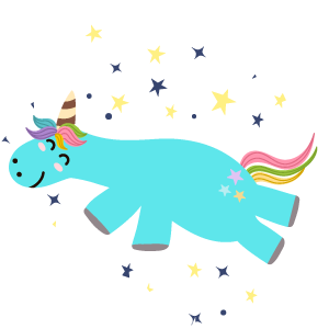 Silly Unicorns messages sticker-10