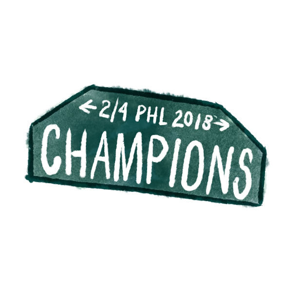 Philly Proud AF messages sticker-0