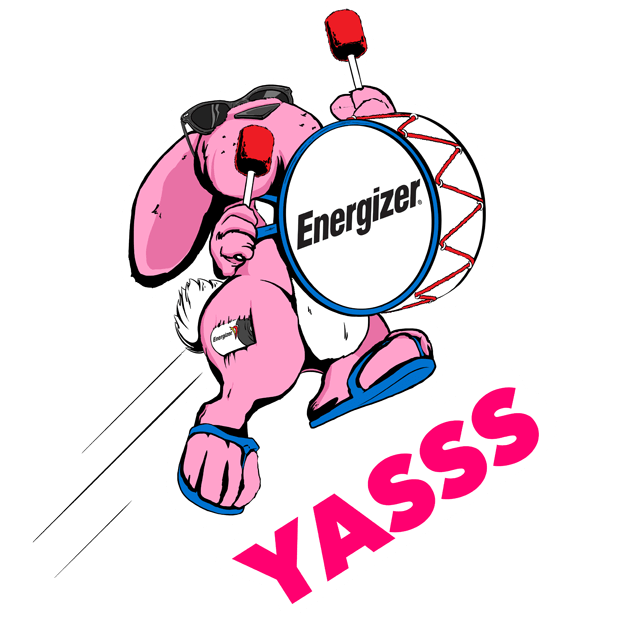 Energizer Bunny Stickers messages sticker-4