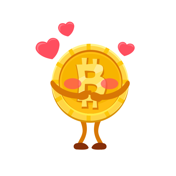 Cryptalk Lite Bitcoin Stickers messages sticker-4