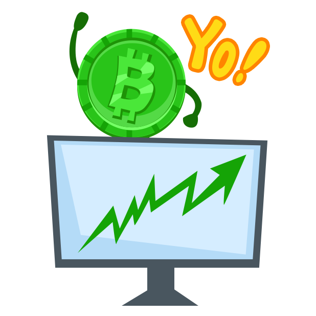 Cryptalk Lite Bitcoin Stickers messages sticker-3