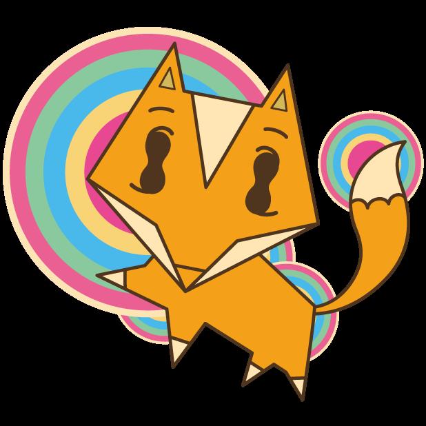 Fox in POP Lite messages sticker-2