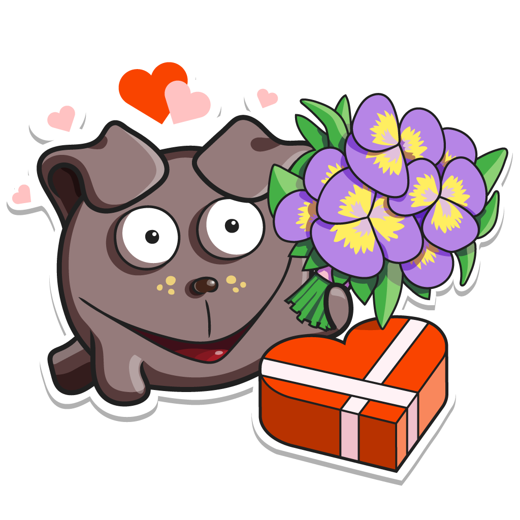 MonstricuS Love Stickers messages sticker-1