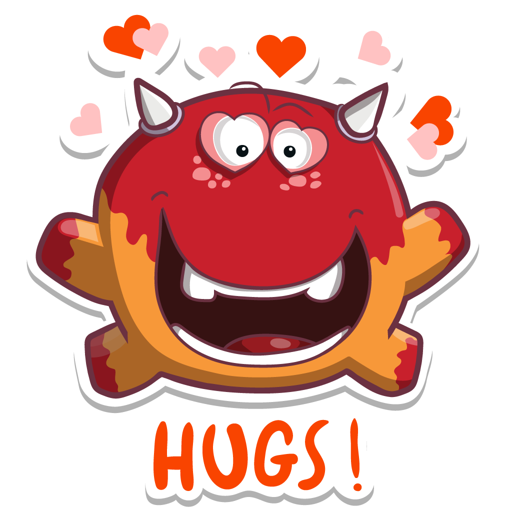 MonstricuS Love Stickers messages sticker-11