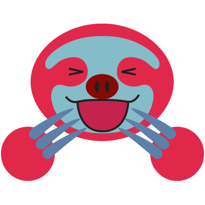 COLORFUL SLOTH FRIENDS messages sticker-7