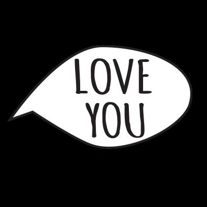 Valentine's underwear messages sticker-5