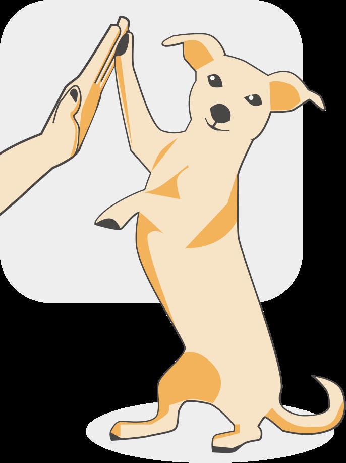 Dog-狗狗 messages sticker-0