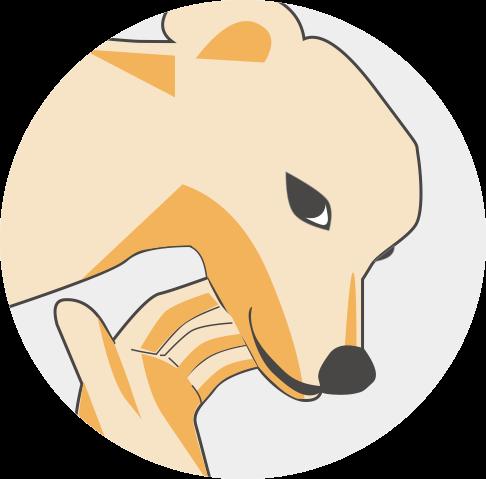 Dog-狗狗 messages sticker-9