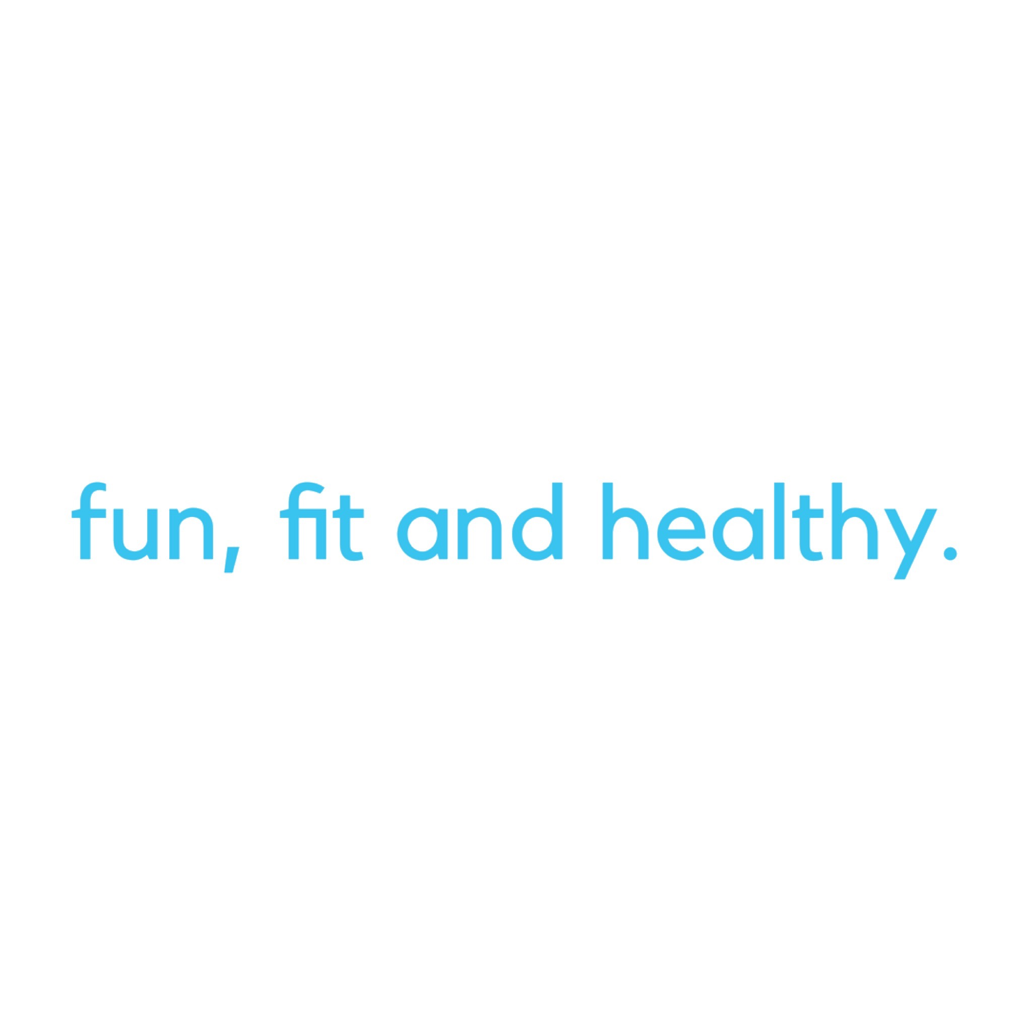Fun, Fit and Healthy Stickers messages sticker-9
