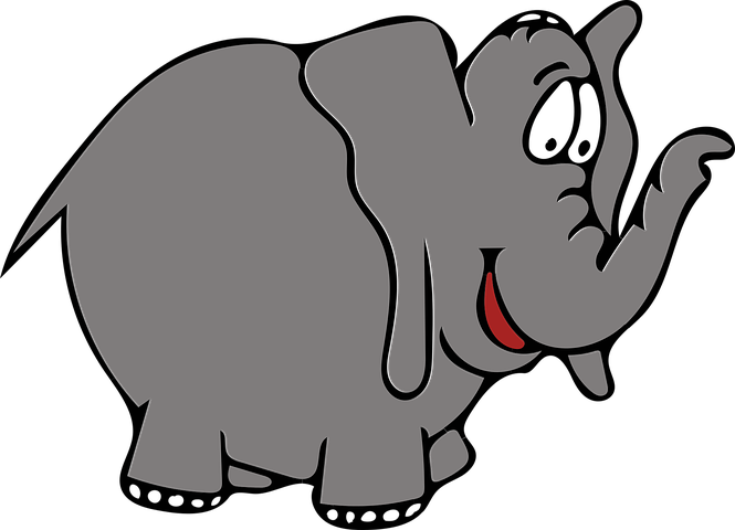 Elephant Stickers  - 2018 messages sticker-9