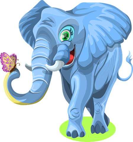 Elephant Stickers  - 2018 messages sticker-7