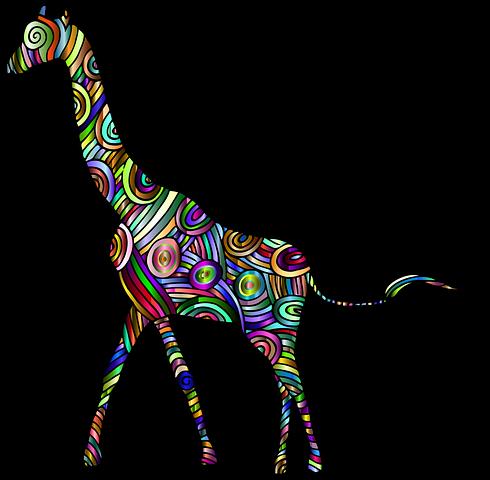 Giraffe Stickers - 2018 messages sticker-5