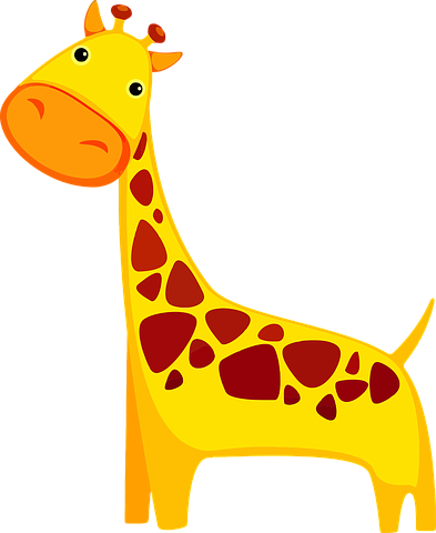 Giraffe Stickers - 2018 messages sticker-6
