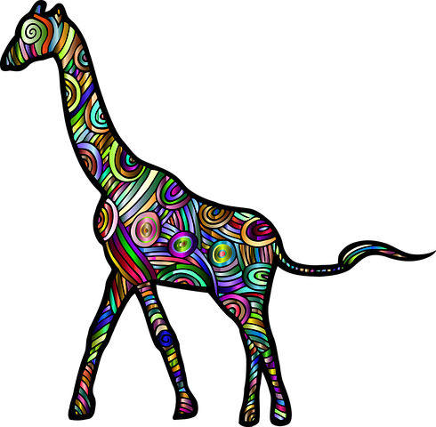 Giraffe Stickers - Sid Y messages sticker-5
