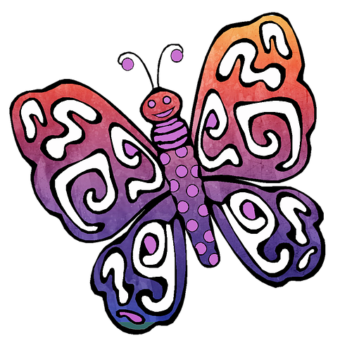 Butterfly Stickers - 2018 messages sticker-0