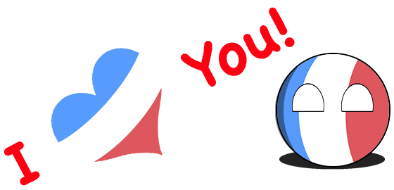CountryBalls - FR messages sticker-11