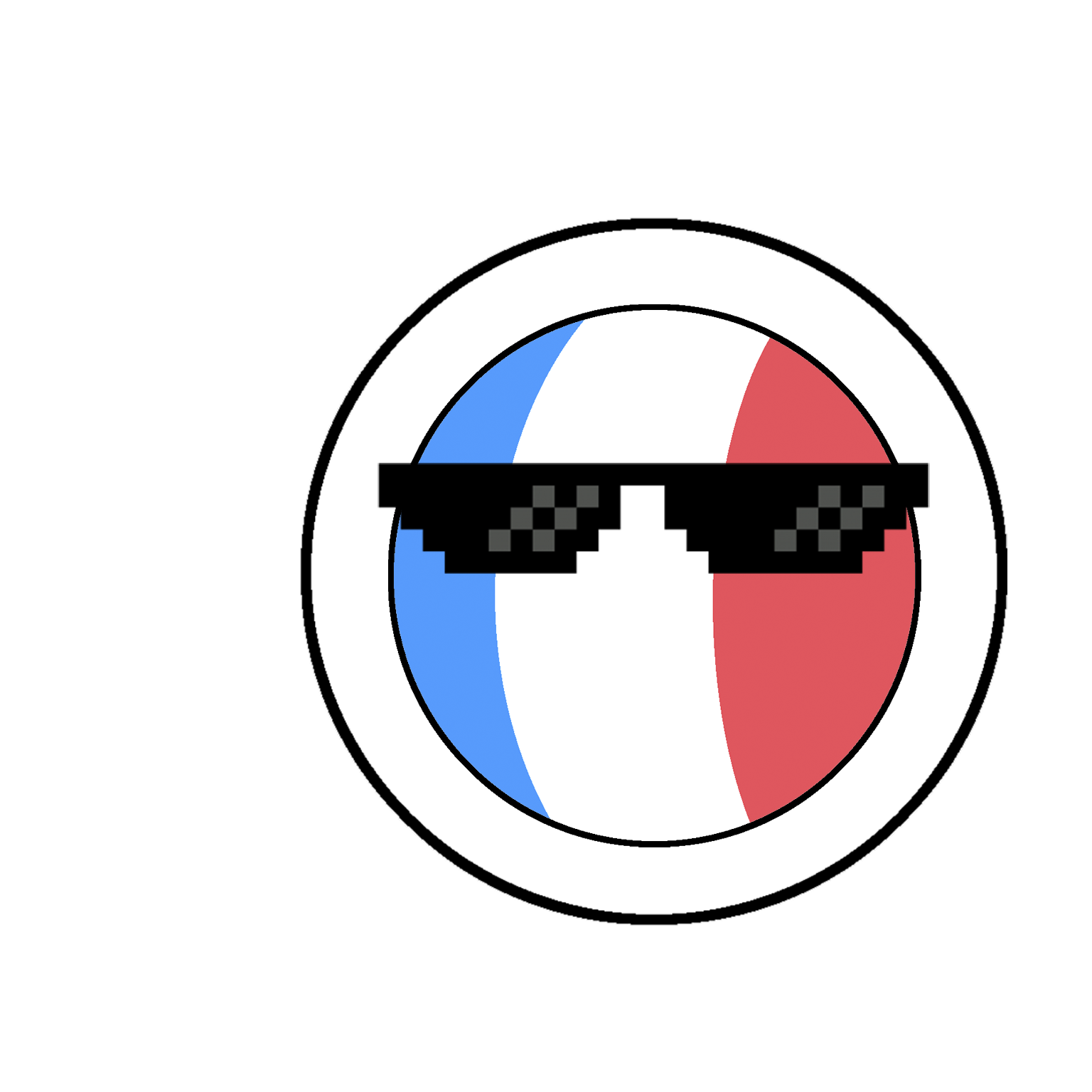 CountryBalls - FR messages sticker-2