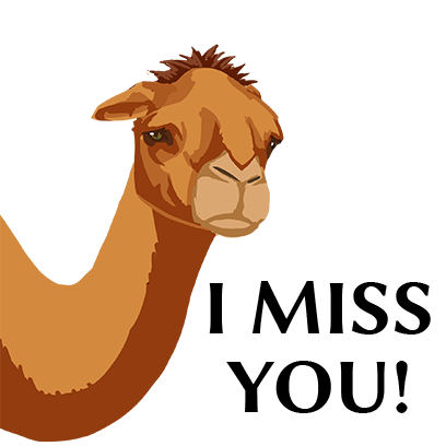Silk Road Camel Stickers messages sticker-10