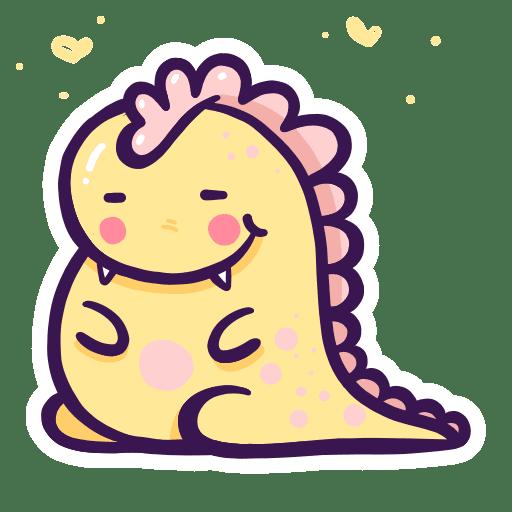 Enjoy the Cuteness Stickers messages sticker-4