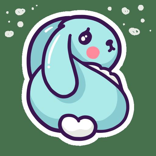 Enjoy the Cuteness Stickers messages sticker-1