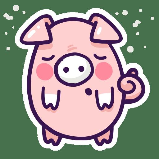 Enjoy the Cuteness Stickers messages sticker-7