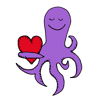 Happy Octopi Stickers messages sticker-6