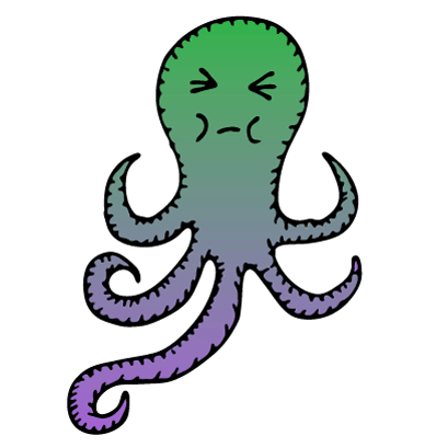 Happy Octopi Stickers messages sticker-10