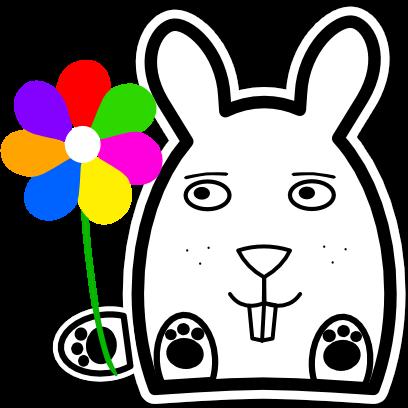 Sticky Bunnies messages sticker-4