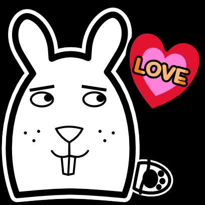 Sticky Bunnies messages sticker-1