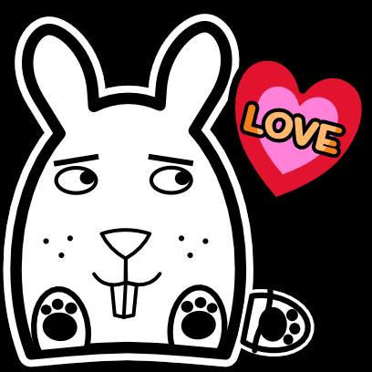 Sticky Bunnies messages sticker-2