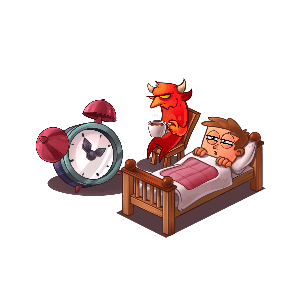 Idle Hell Clicker: Tycoon game messages sticker-8