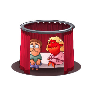 Idle Hell Clicker: Tycoon game messages sticker-6