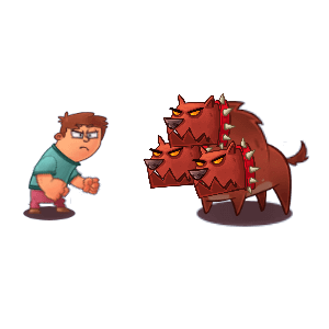 Idle Hell Clicker: Tycoon game messages sticker-2