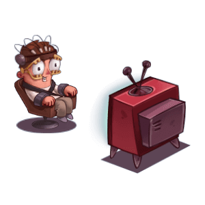Idle Hell Clicker: Tycoon game messages sticker-10