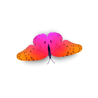 Bright Butterfly Stickers messages sticker-11