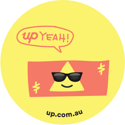 Up — Super Powered Banking messages sticker-3