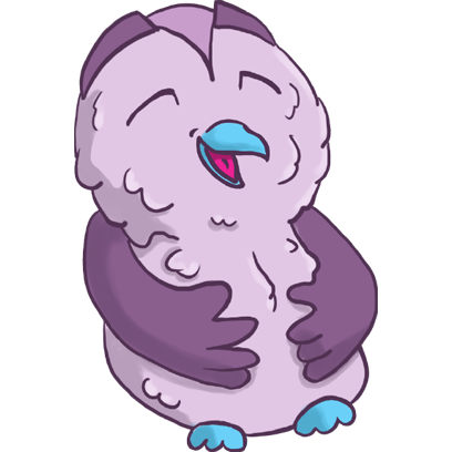Lowly - Cute Owl messages sticker-8