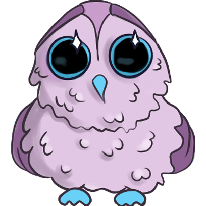 Lowly - Cute Owl messages sticker-0
