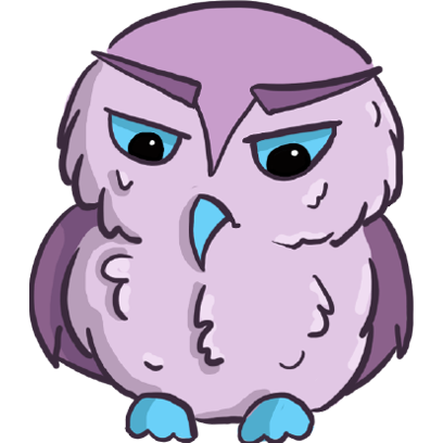Lowly - Cute Owl messages sticker-5
