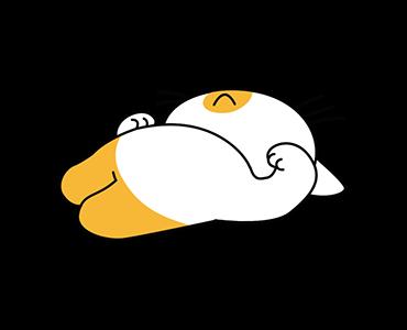 Little Kitten Animated Emoji messages sticker-8
