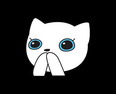 Little Kitten Animated Emoji messages sticker-10