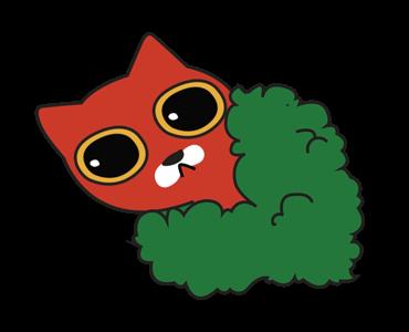 Little Kitten Animated Emoji messages sticker-0