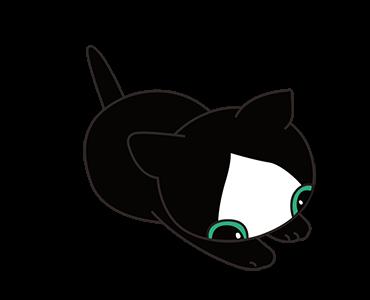 Little Kitten Animated Emoji messages sticker-6